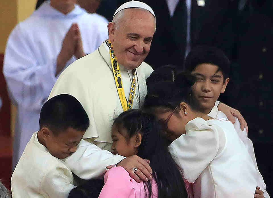 Pope Francis in the Philippines