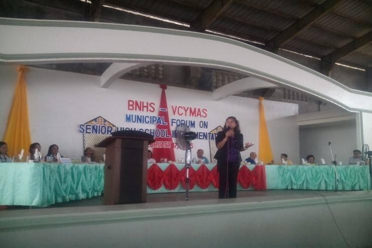 Basey National High School VCYMAS Senior High School Forum