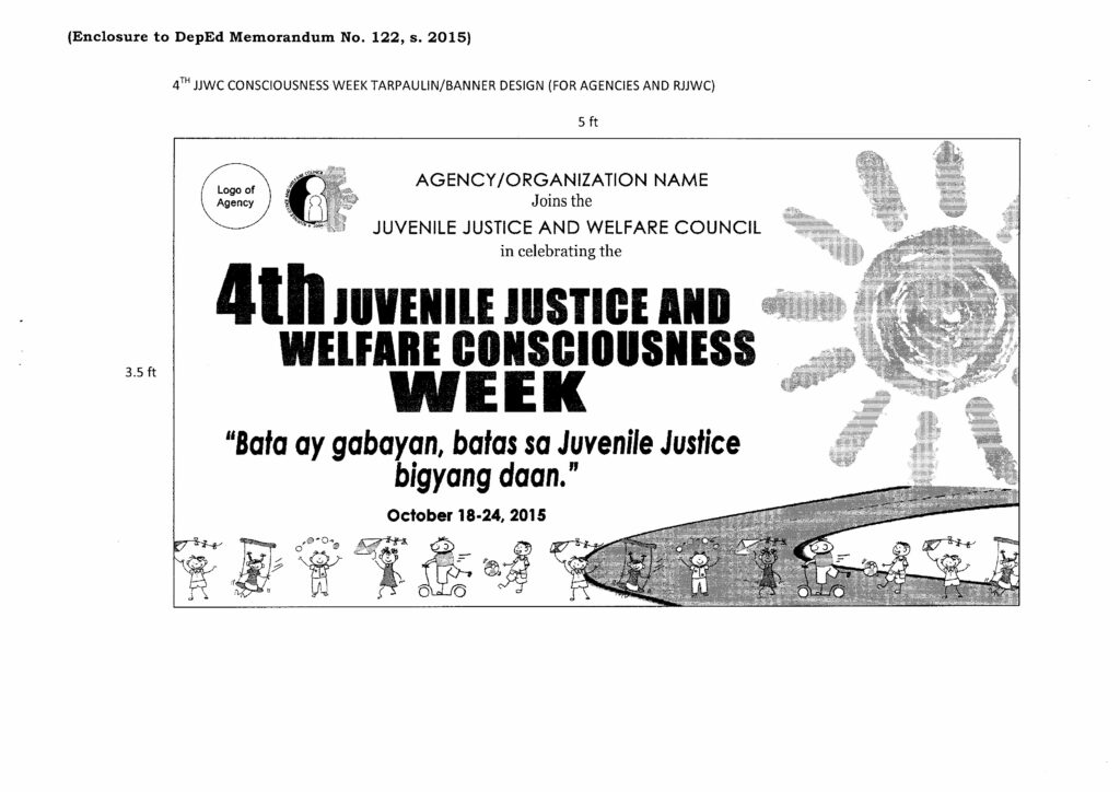 Fourth Juvenile Justice and Welfare Consciousness Week