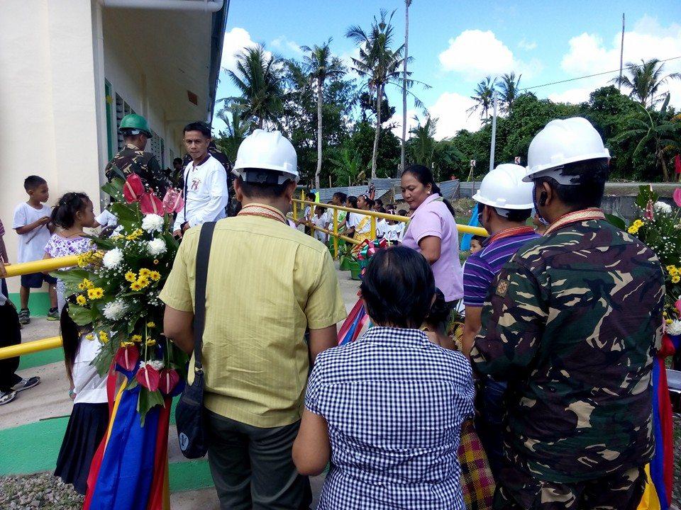 Basiao Elementary School Basey Samar Turn Over Ceremony