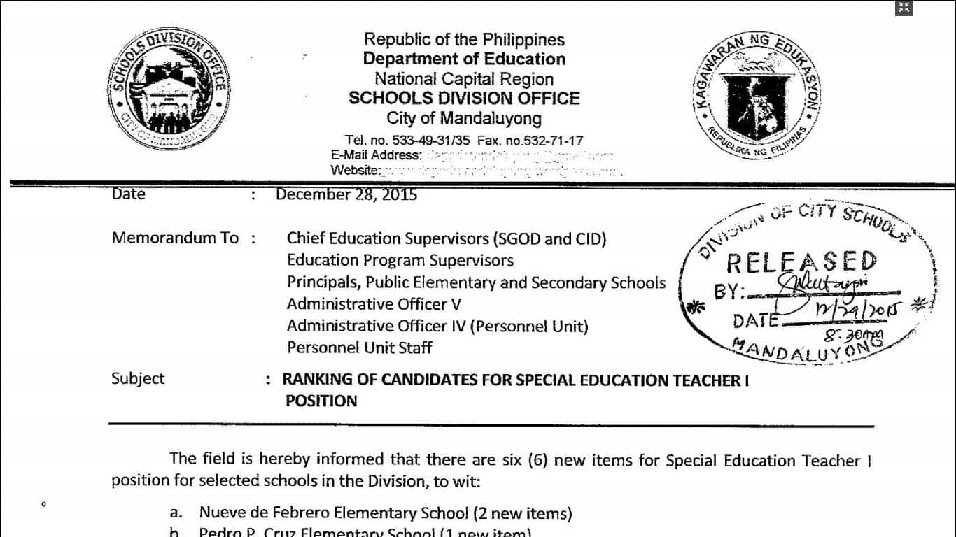 application letter for education