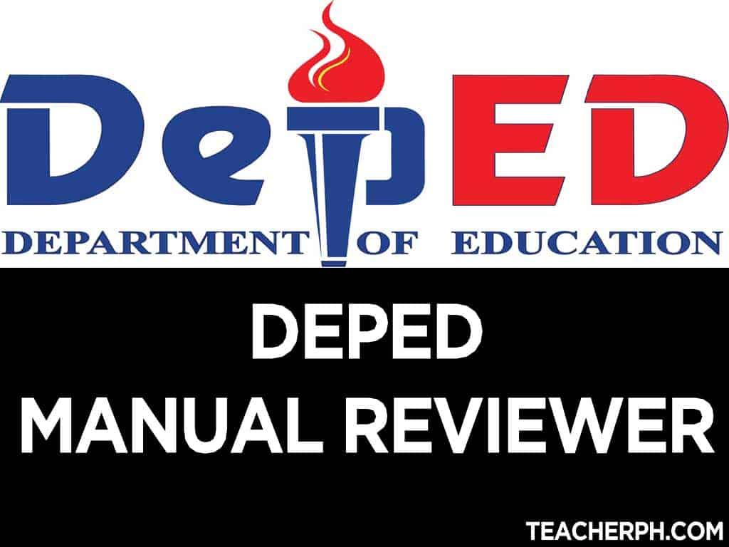Deped manual reviewer page 7 of 9 teacherph fandeluxe Gallery