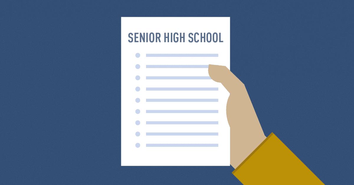 Deped Senior High School Qualification Standards