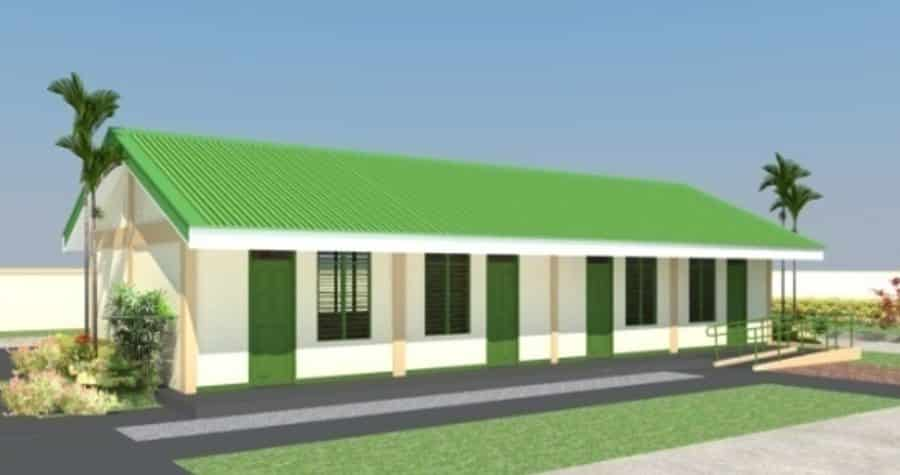 DepEd New School Building Design - ONE (1) STOREY BUILDING