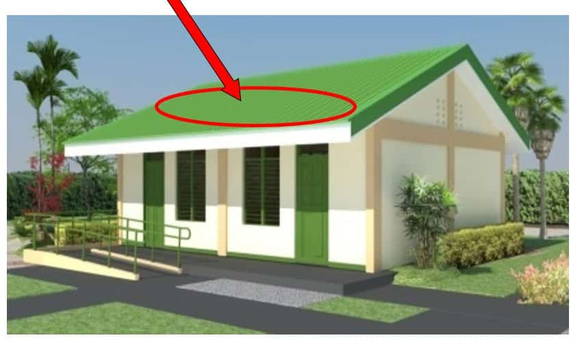 DepEd New School Building Design - Roofing