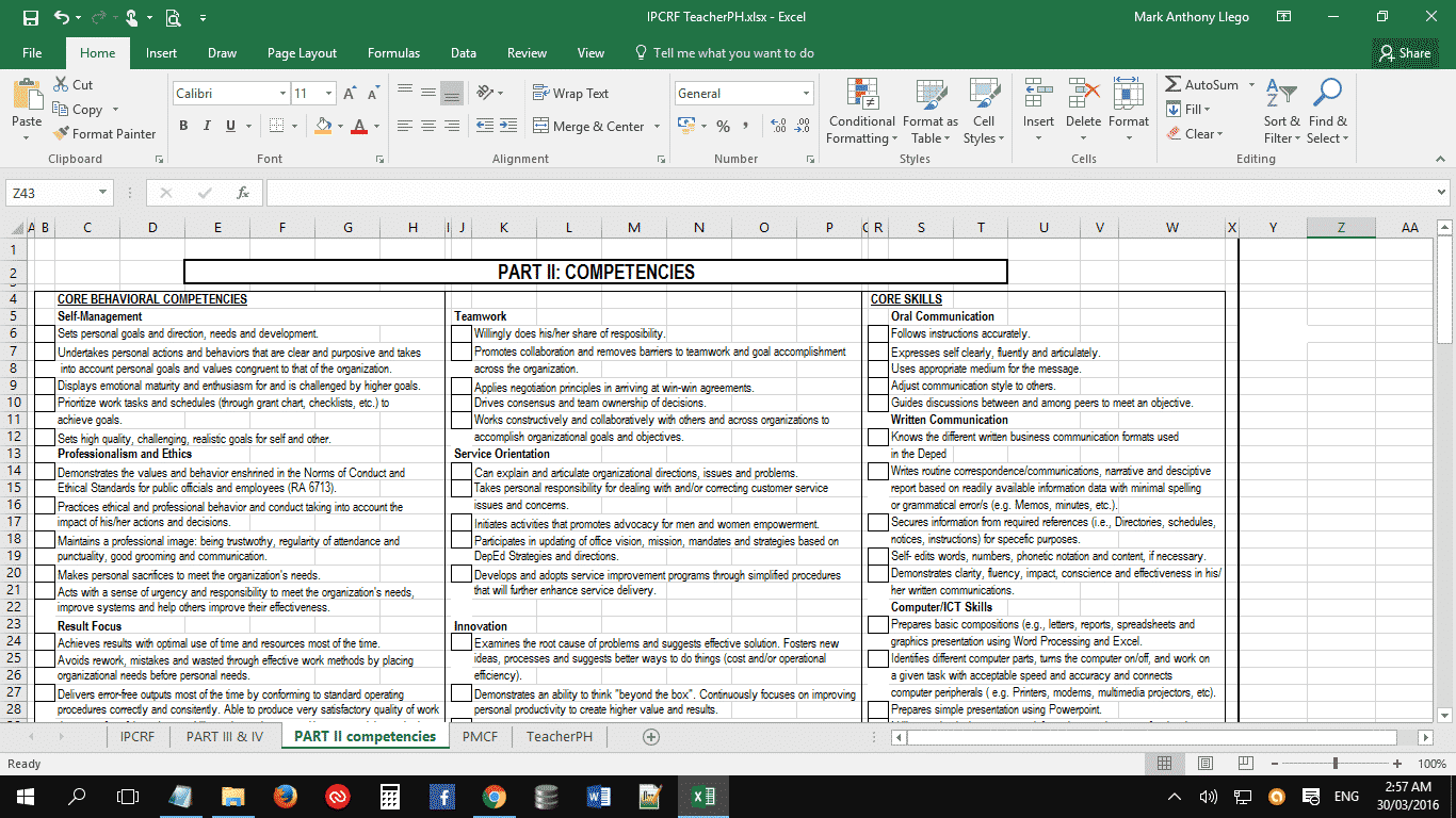 report to senior management template