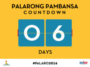 2016 Palarong Pambansa Initial Masterlist of Qualified Athletes, Coaches, and Chaperons by Region
