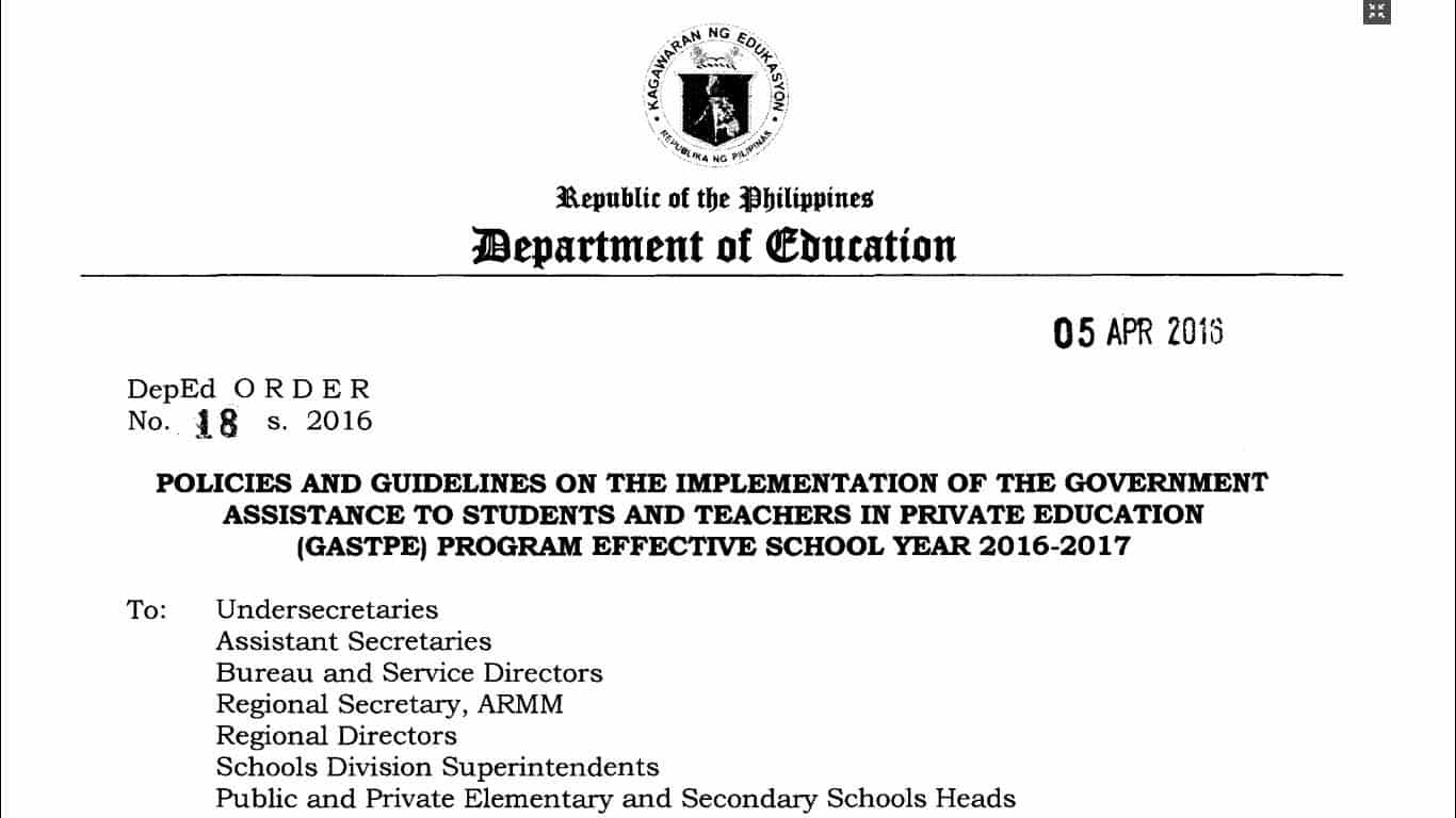 deped orders no homework Deped tambayan ph powered by blogger.
