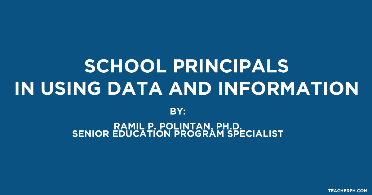 School Principals in Using Data and Information