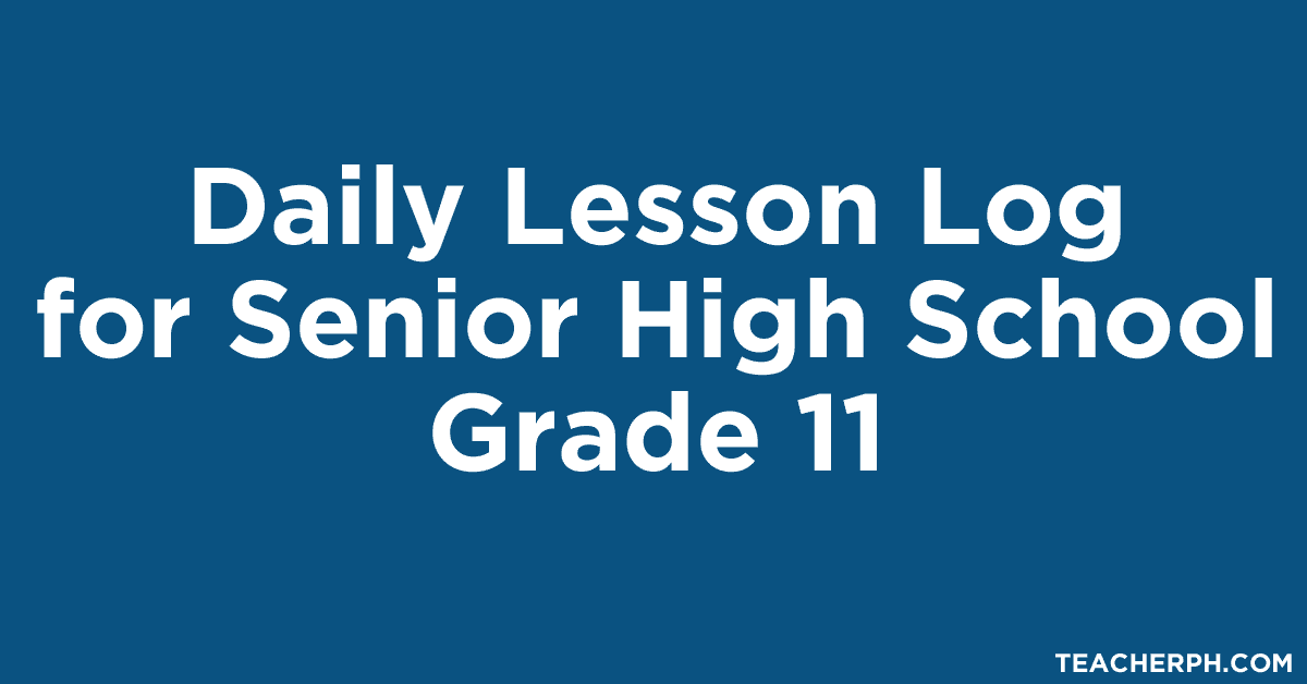 Daily lesson log grade 5 fandeluxe Images