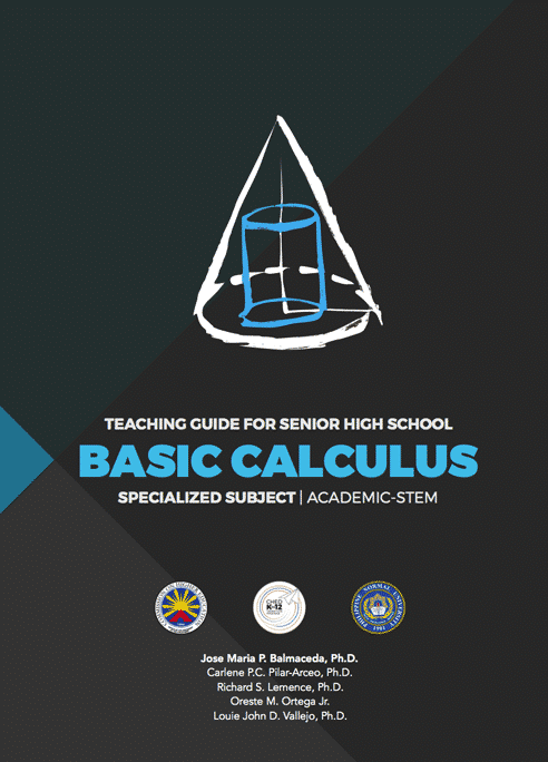Senior High School SHS Teaching Guides Basic Calculus