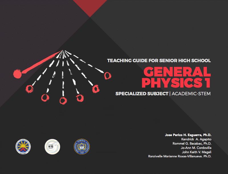 Senior High School SHS Teaching Guides General Physics 1