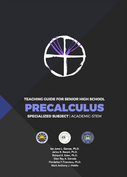 Senior High School SHS Teaching Guides PreCalculus