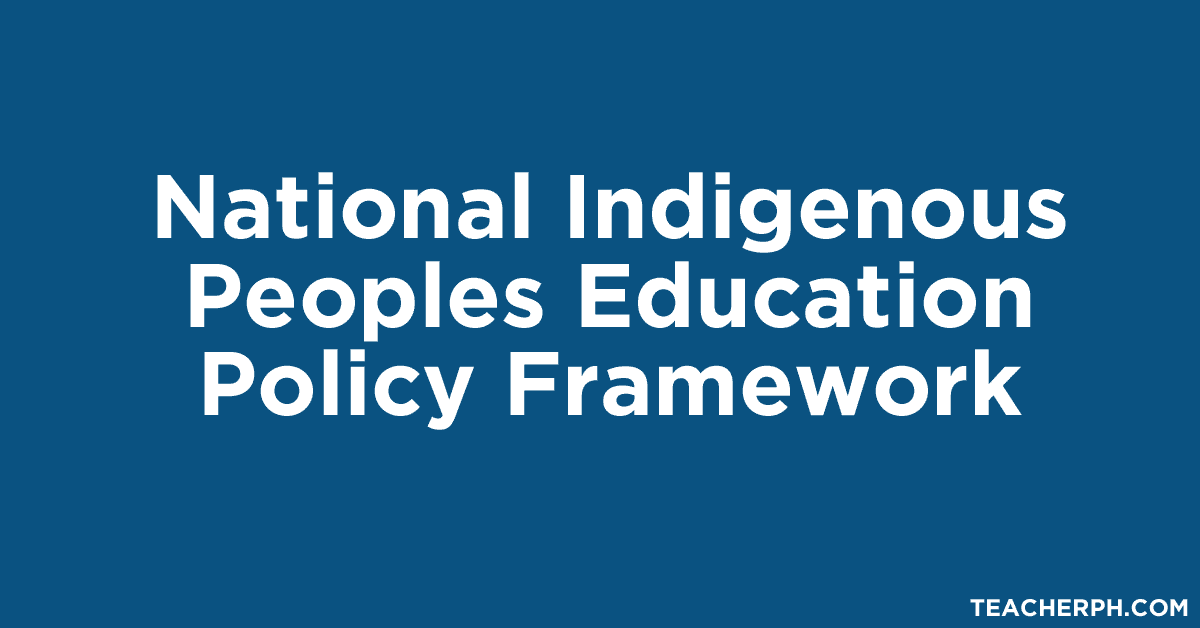 National Indigenous Peoples Education Policy Framework