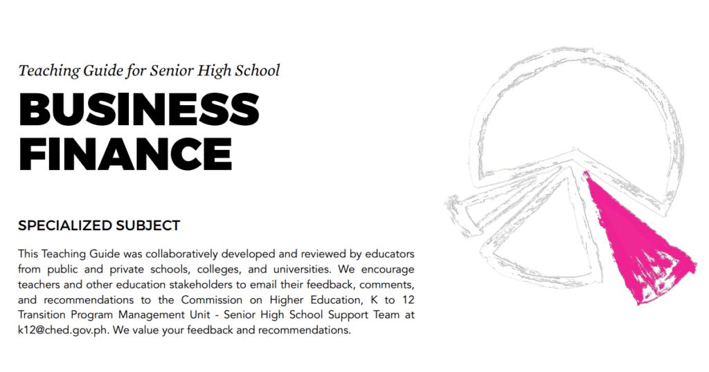 Business Mathematics Senior High School SHS Teaching Guide