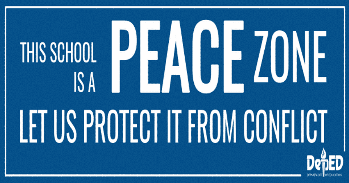 """school a zone of peace 10 ways to promote peace in your classroom while you're setting up your classroom for the new school year,  declare your classroom a """"peace zone."""
