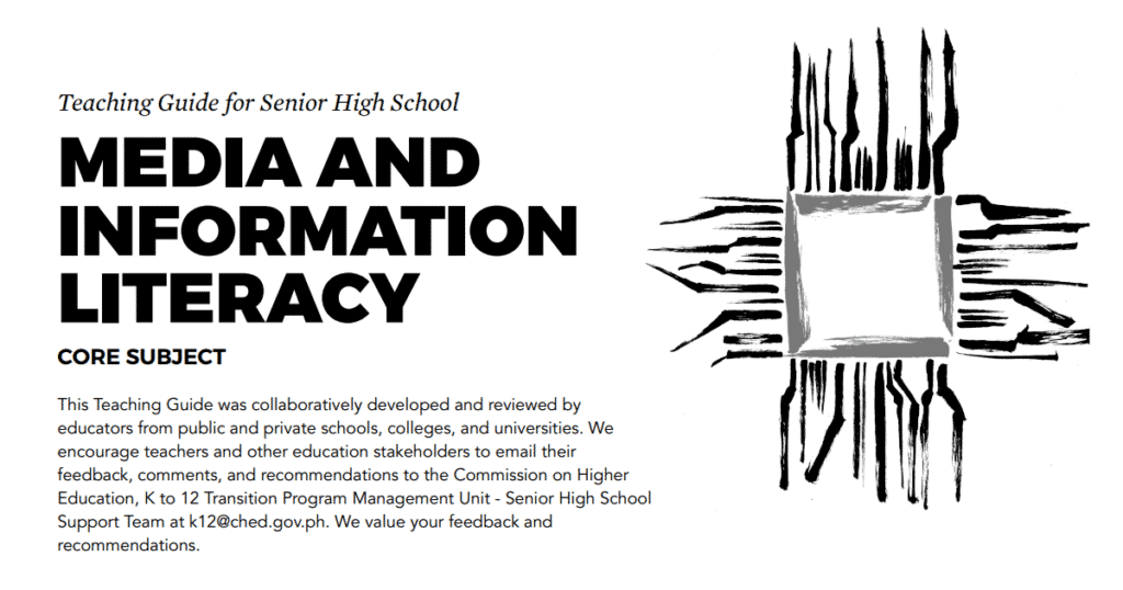 Media and Information Literacy Senior High School Teaching Guide