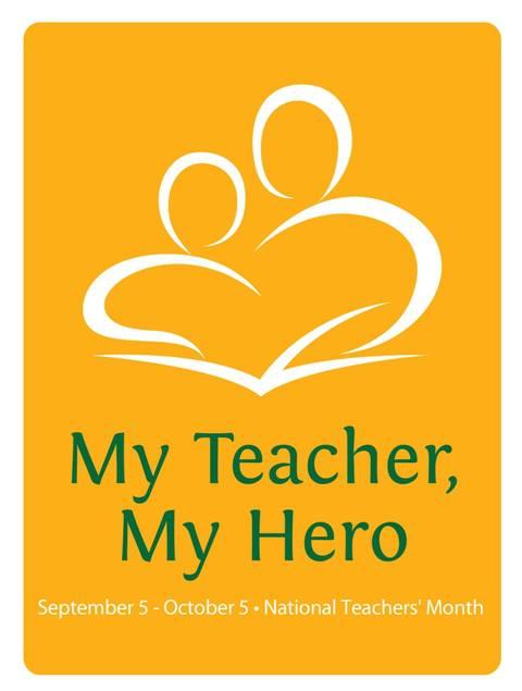 2017 National Teachers' Month Official Logo Design