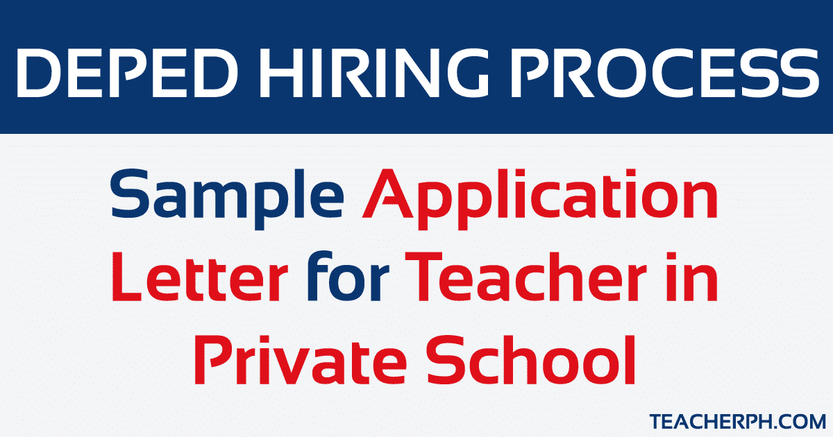 Sample-Application-Letter-for-Teacher-in-Private- Sample Application Letter For Teachers on example cover, when position become avaiable,