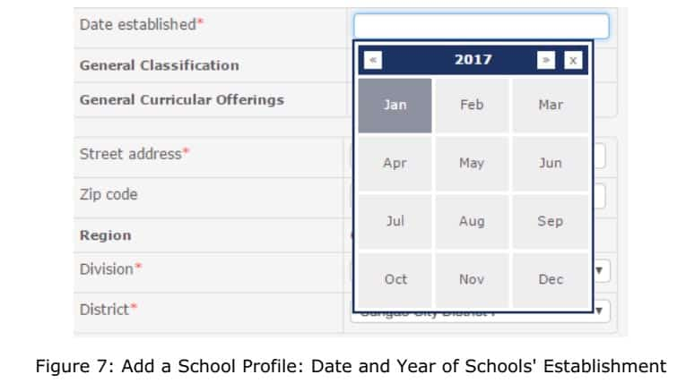 deped ebeis school profile classification