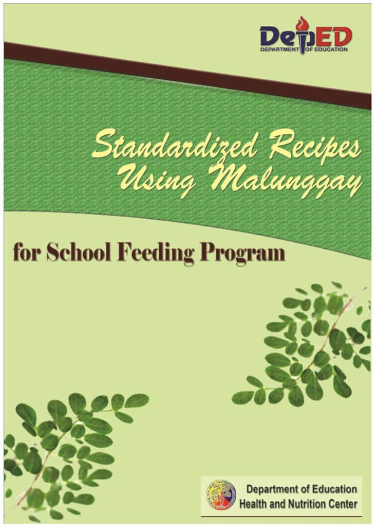 School-Based Feeding Program Recipes Malunggay