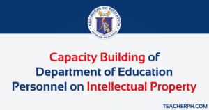 Capacity Building of Department of Education Personnel on Intellectual Property Updated