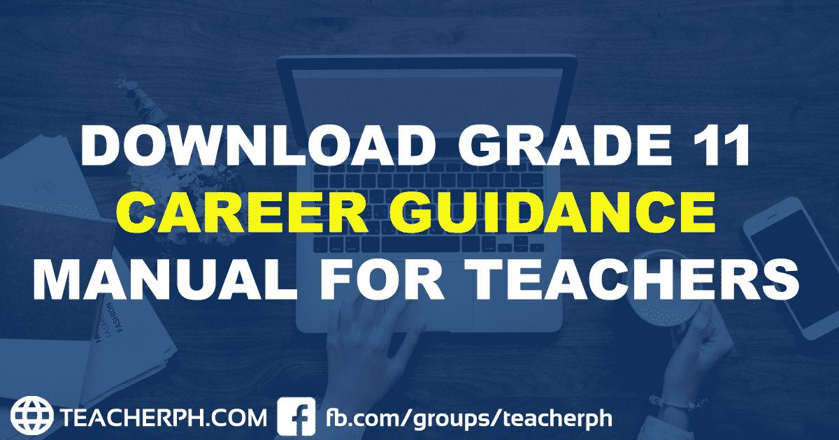 Download Grade 11 Career Guidance Manual for Teachers