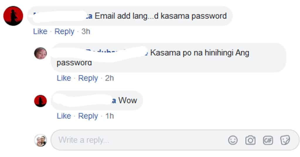 Deped Email Address and Password as a Requirement in the Processing of Loans