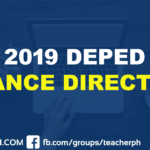 2019 DEPED FINANCE DIRECTORY