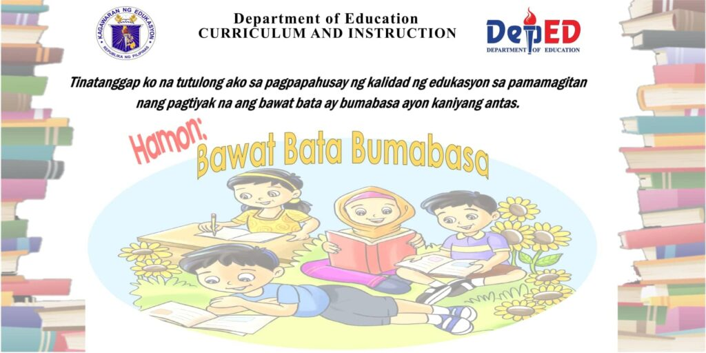 'Bawat Bata Bumabasa' a priority in DepEd's quest for quality education