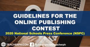 2020 NSPC Guidelines for the Online Publishing Contest