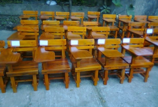 DepEd School Furniture Design All Wood Chair