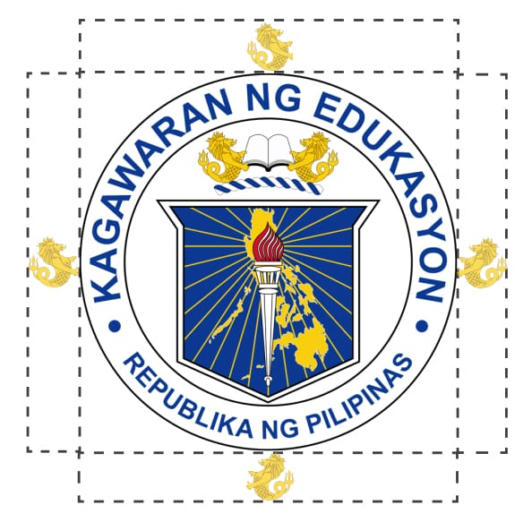 DepEd Seal Spacing Requirement