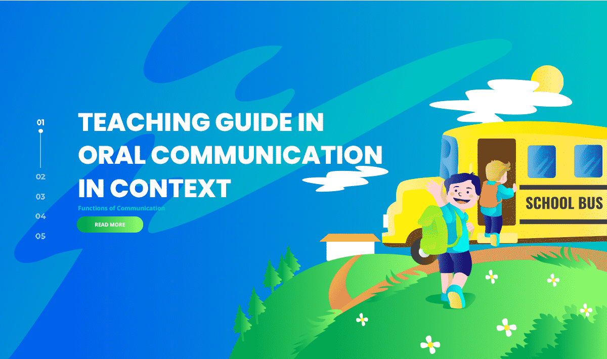 Teaching Guide in Oral Communication in Context (Functions of Communication)