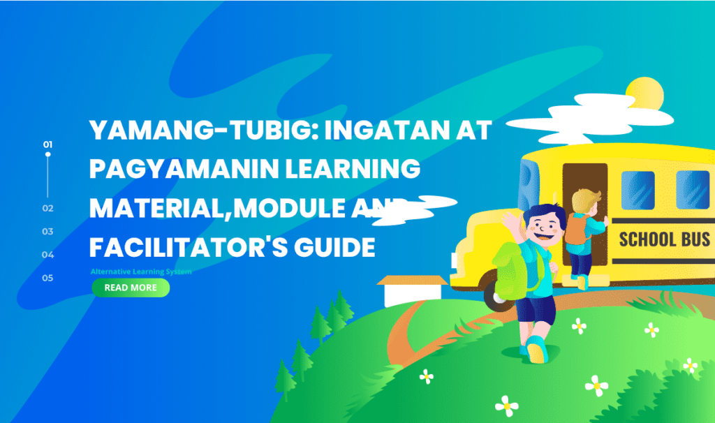 Yamang-tubig Ingatan at Pagyamanin Learning Material, Module and Facilitator's Guide