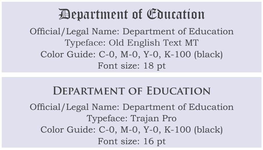 2020 DepEd Standard Format and Templates for Certificates