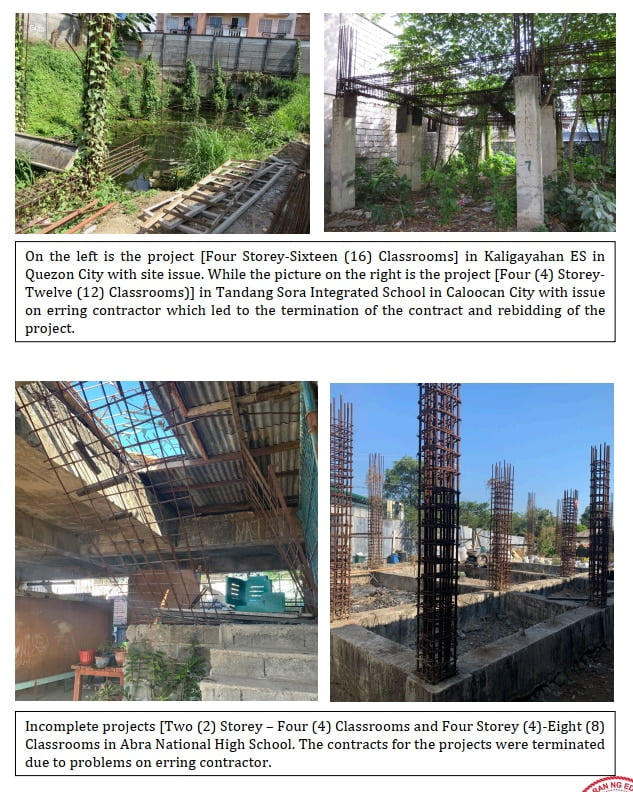 Abandoned and Incomplete DepEd School Buildings