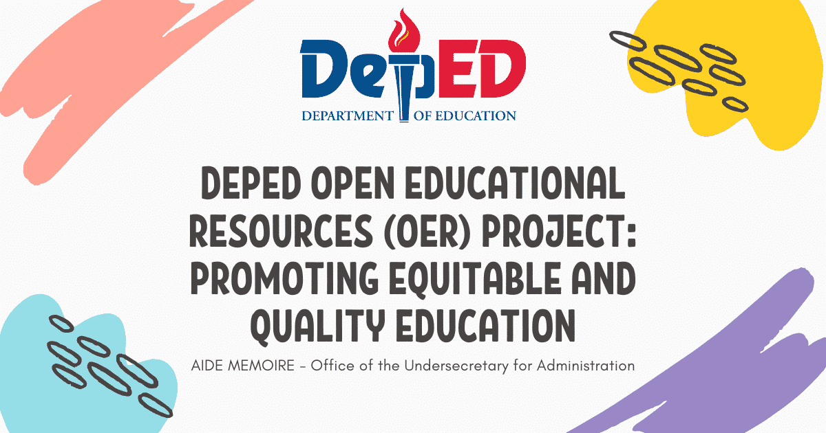 DepEd Open Educational Resources (OER) Project