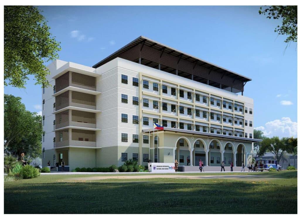 DepEd School Building 5 storey, 20 classrooms