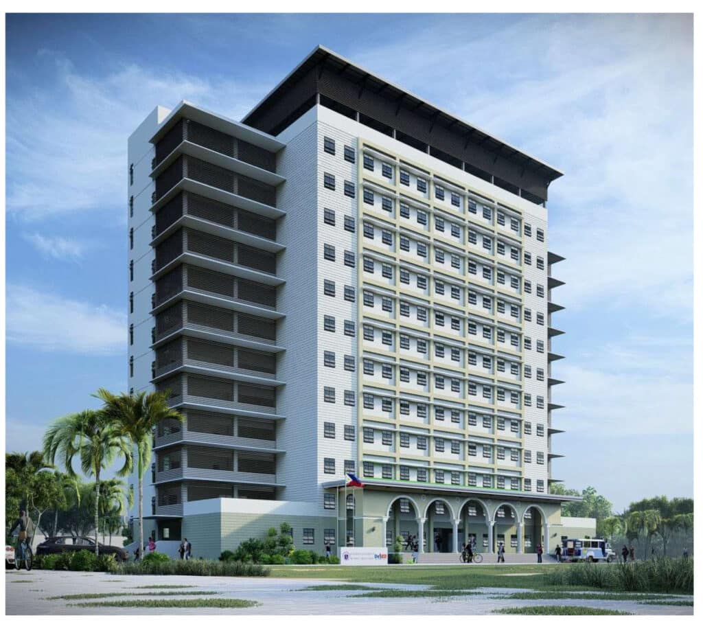 DepEd Proposed High-Storey School Building 12 storey, 32 classrooms, 8 workshops