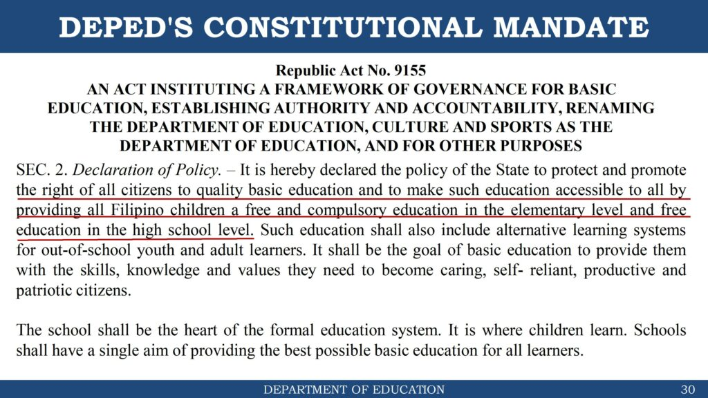 DepEd Guidelines on Enrollment for School Year 2021-2022